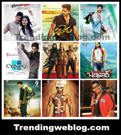 Superstar Allu Arjun Hindi Dubbed Movies List