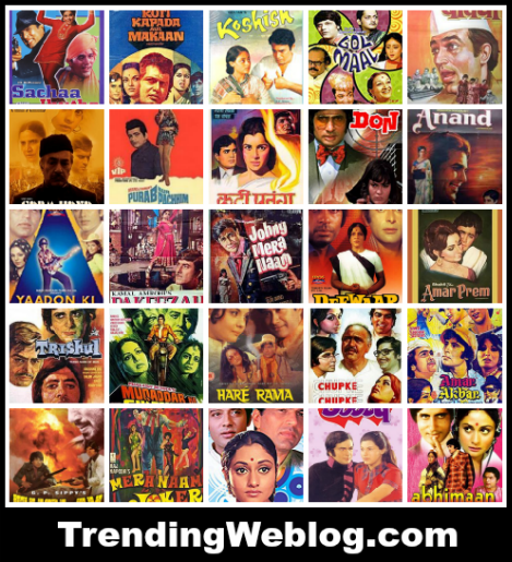 70s Movies Was a Revolution for Bollywood