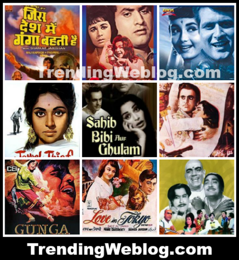 top bollywood 60s Films