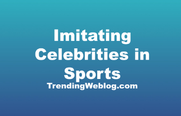 Imitating Celebrities in Sports and Movies Good or Bad Essay PTE
