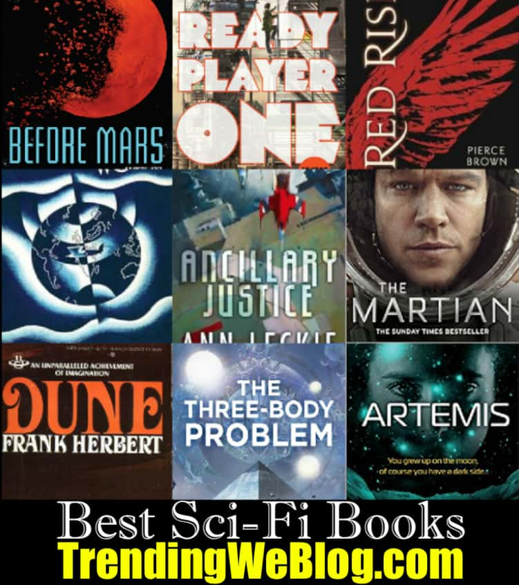 Best New Sci-fi Books