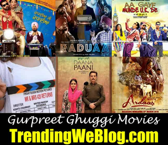 Gurpreet Ghuggi Movies