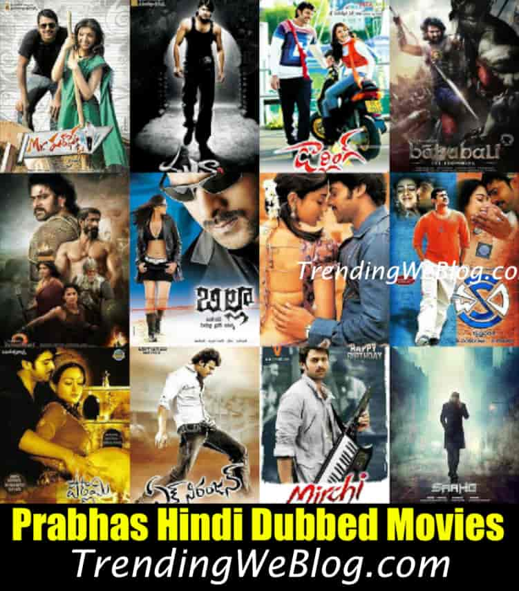 Prabhas Hindi Dubbed Movies