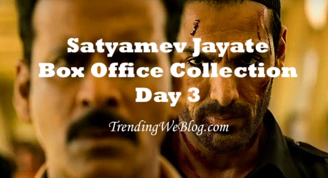 Satyamev Jayate Box Office Collection