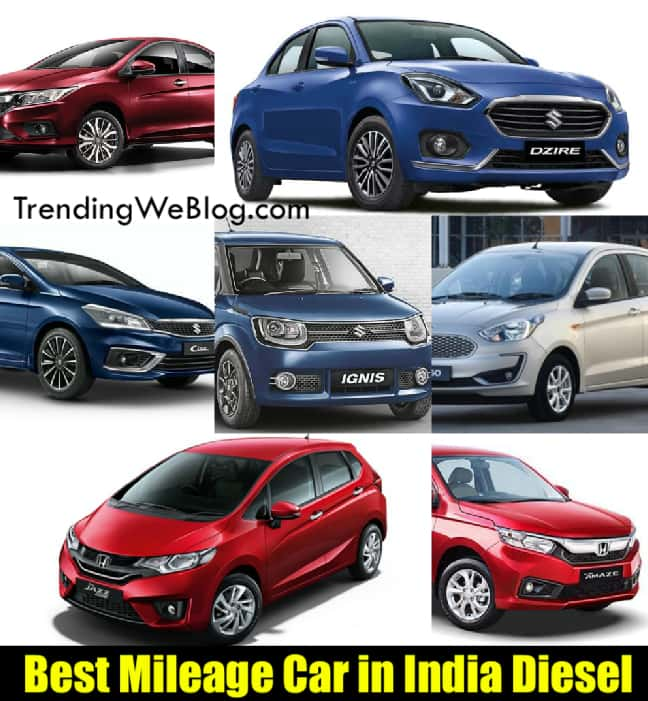 Best Mileage Car in India