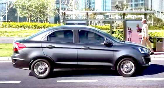Ford Aspire Facelift India