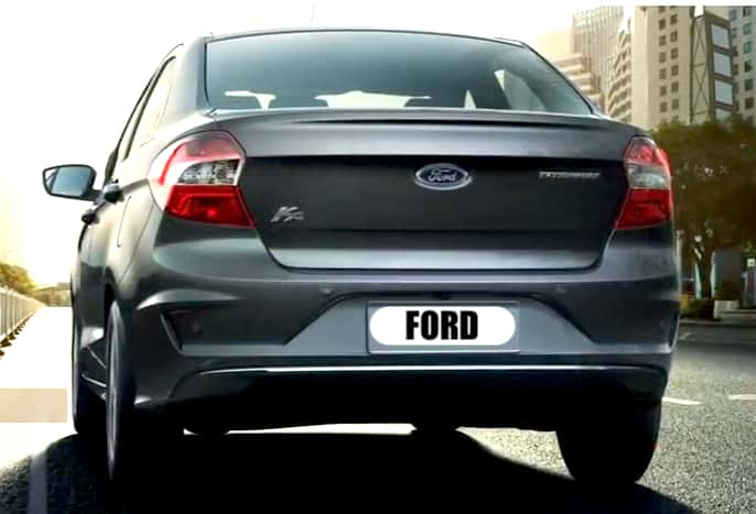 Ford Aspire Facelift Images