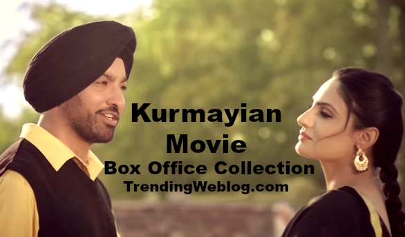 Kurmayian Punjabi Movie 1st Day Friday Box Office Collection