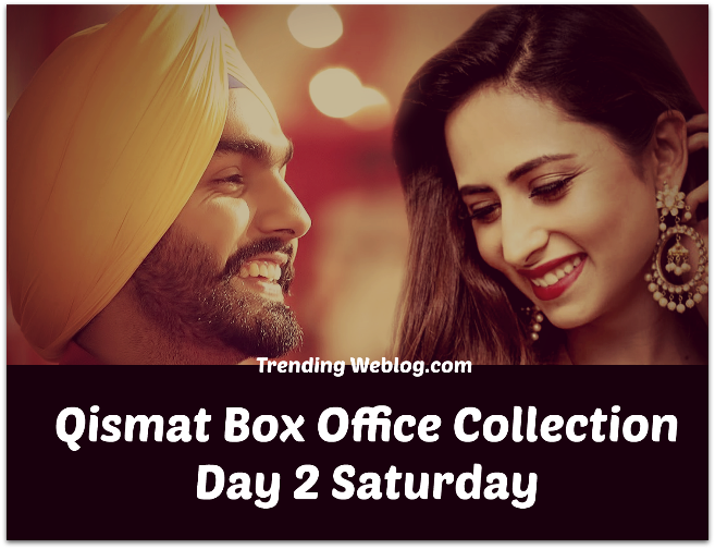 Qismat Box Office Collection
