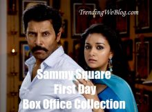 Sammy Square Movie First Day Box Office Collection