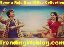 Seema Raja Movie 2nd Day Domestic Box Office Collection