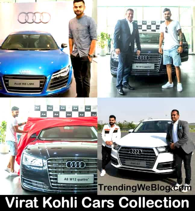 Virat Kohli Cars Collection