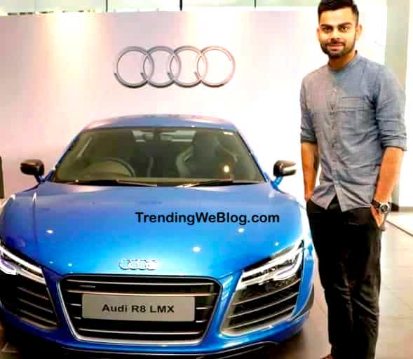 Car Collection of Virat Kohli