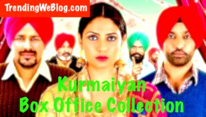 Kurmaiyan Punjabi Movie 3rd Day Sunday Box Office Collection