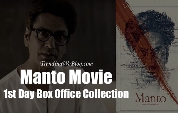 Manto Movie 1st Day Friday Box Office Collection