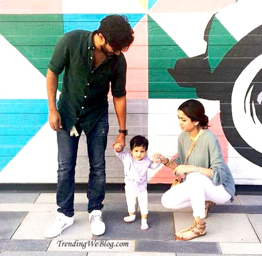 Dulquer Salmaan family