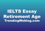 IELTS Essay Retirement Age
