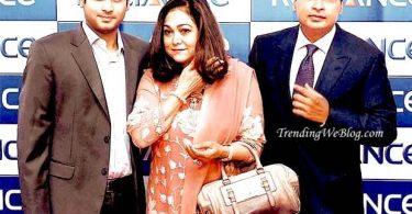 Tina Ambani Biography