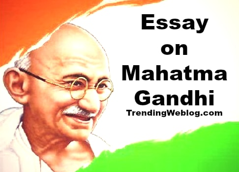 What Is A Synthesis Essay Mahatma Gandhi Essay Personal Essay Examples High School also Research Essay Proposal Template Mahatma Gandhi Essay In English For Students  Class       The Yellow Wallpaper Critical Essay