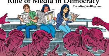 essay on role of media in democracy