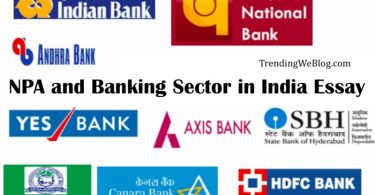 NPA and Banking Sector in India Essay