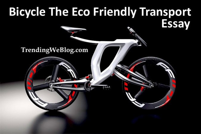 Essay on Bicycle The Eco Friendly Transport