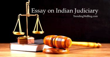 Essay on Indian Judiciary