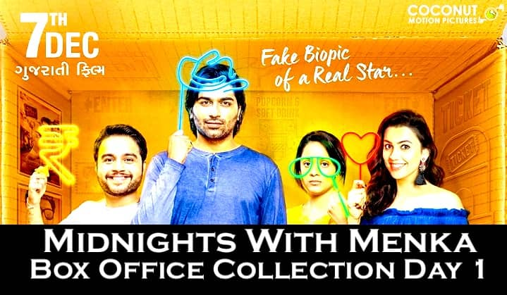 Midnights With Menka Gujarati Movie Box Office Collection Day 1