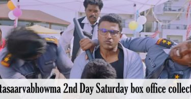 Natasaarvabhowma 2nd Day Saturday box office collection